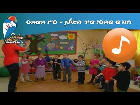 """חודש שבט: האילן – ט""""ו בשבט שירים לילדים"""